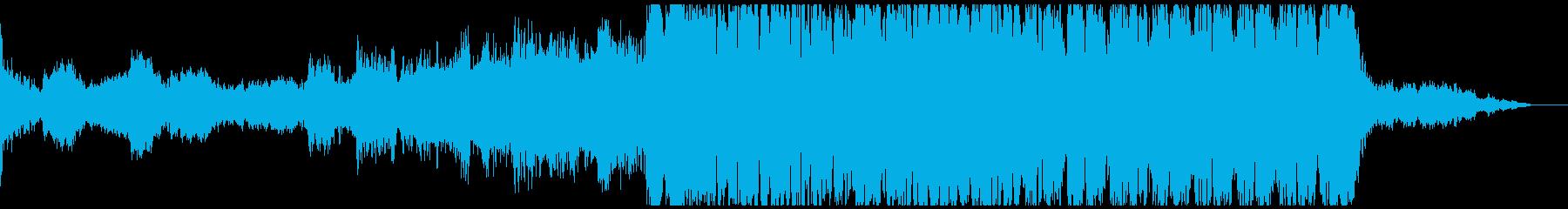おしゃれ系ダブステップの再生済みの波形