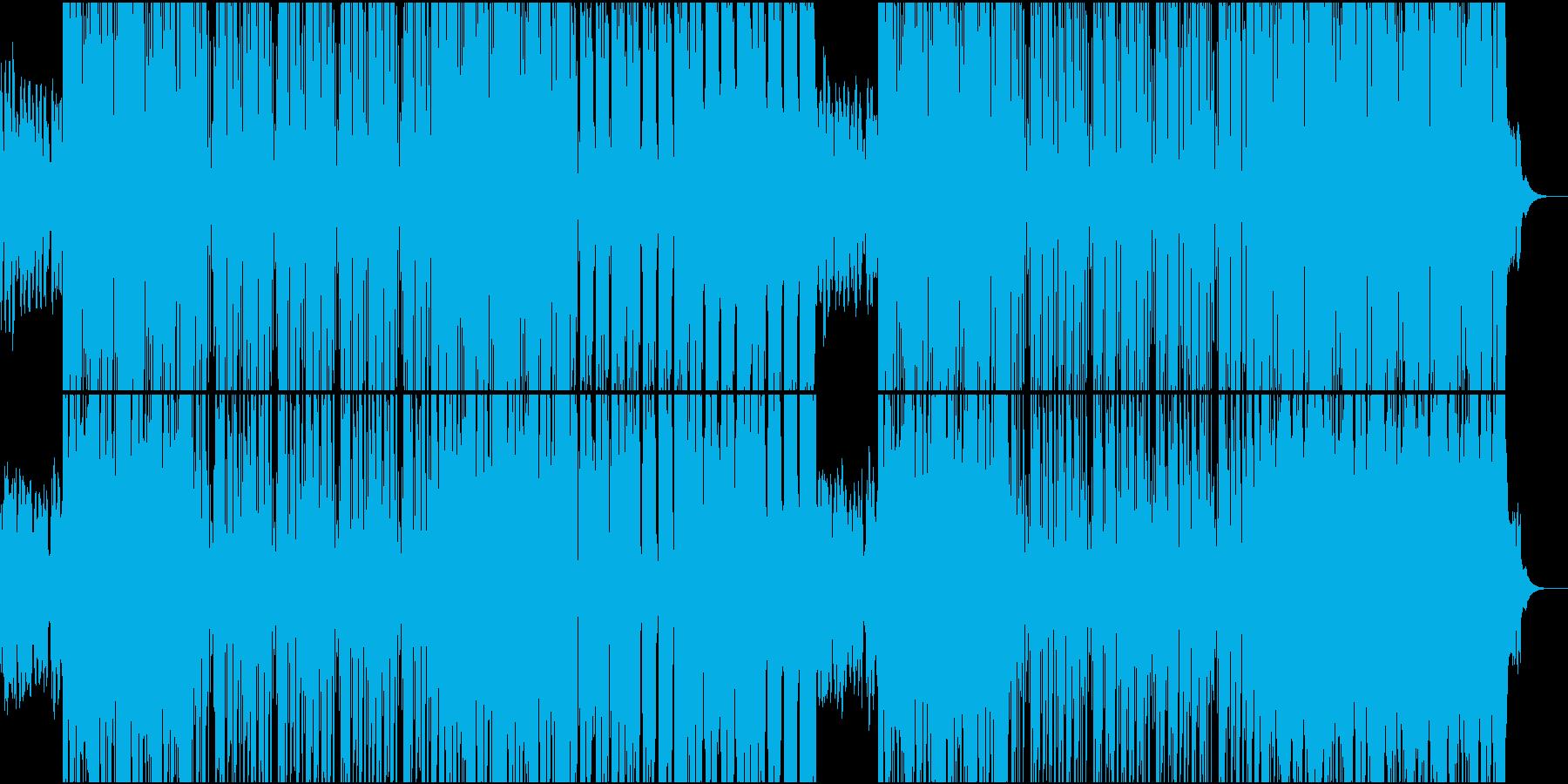 切なくゆったりしたR&B系ラウンジ楽曲の再生済みの波形