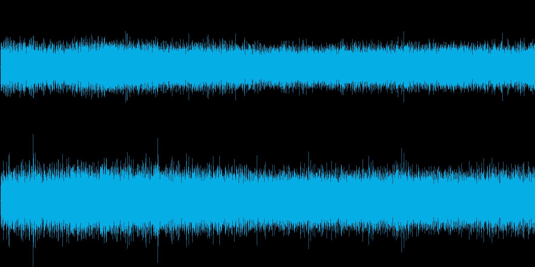 工業地帯(環境音)の再生済みの波形