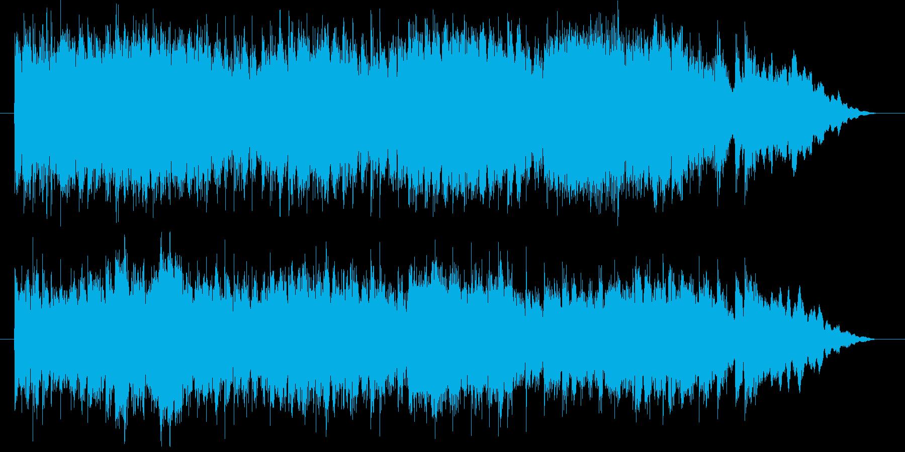 爽やかで涼しげなボイスシンセサウンドの再生済みの波形