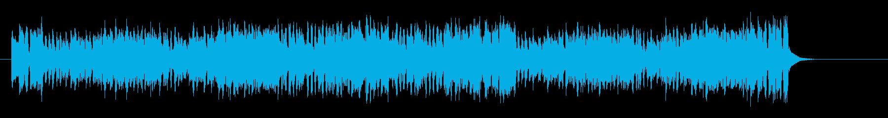 コミカルで陽気なデキシー・ジャズ風の再生済みの波形
