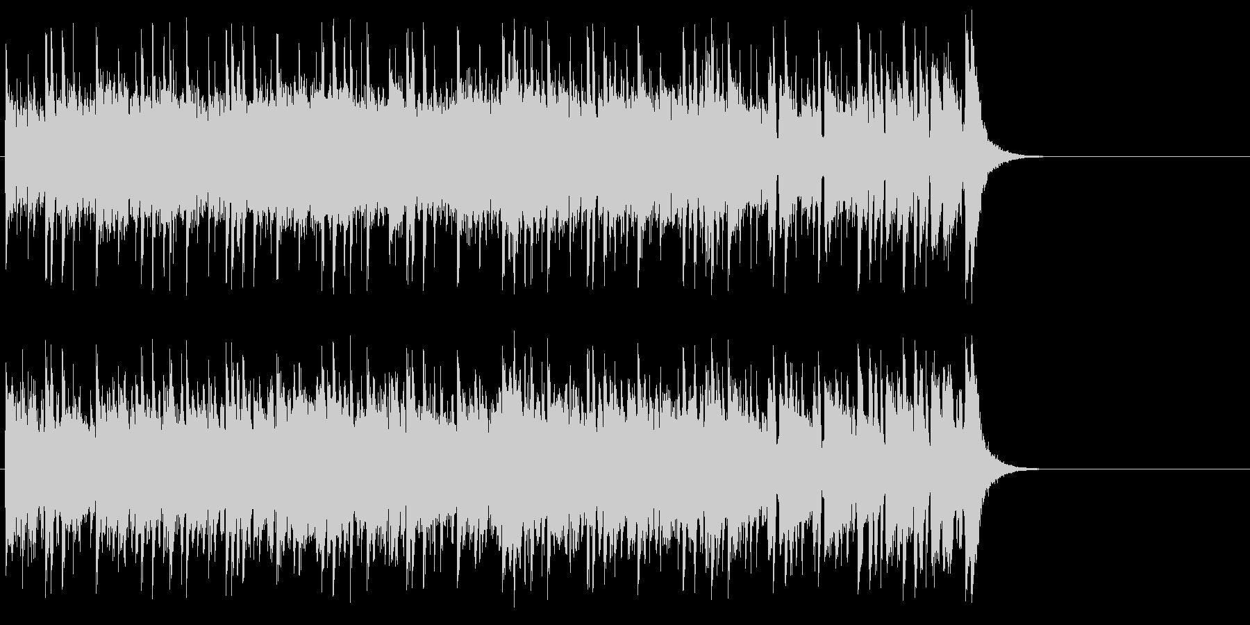 健やかなほのぼのポップ(サビ~イント…)の未再生の波形