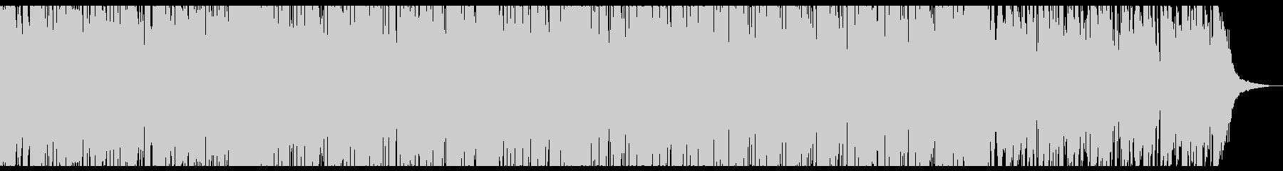 グリッチが効いたエレクトロニカの未再生の波形