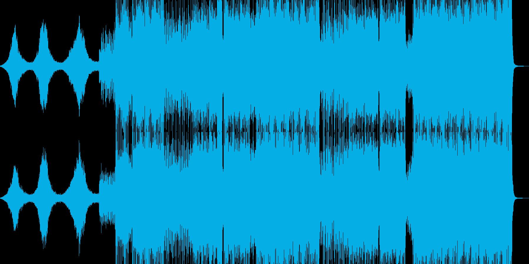 アクセルを踏み込みたくなるようなレイブの再生済みの波形