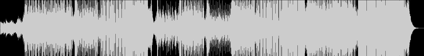 R&B系の切ないメロディの和風EDMの未再生の波形