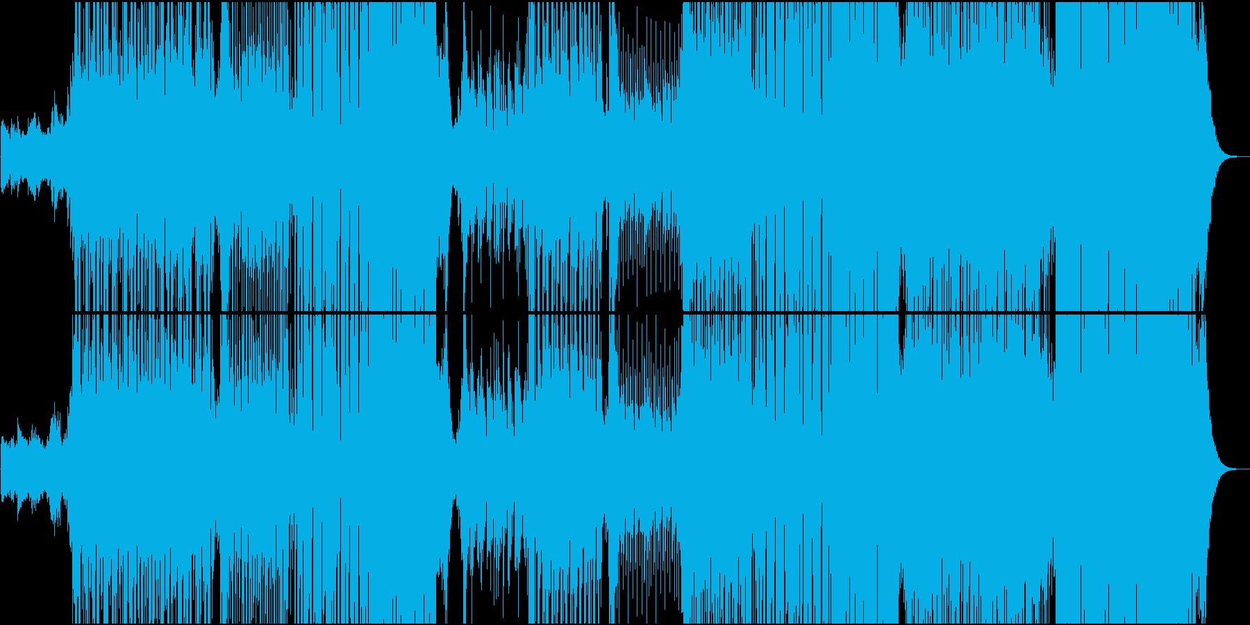 R&B系の切ないメロディの和風EDMの再生済みの波形