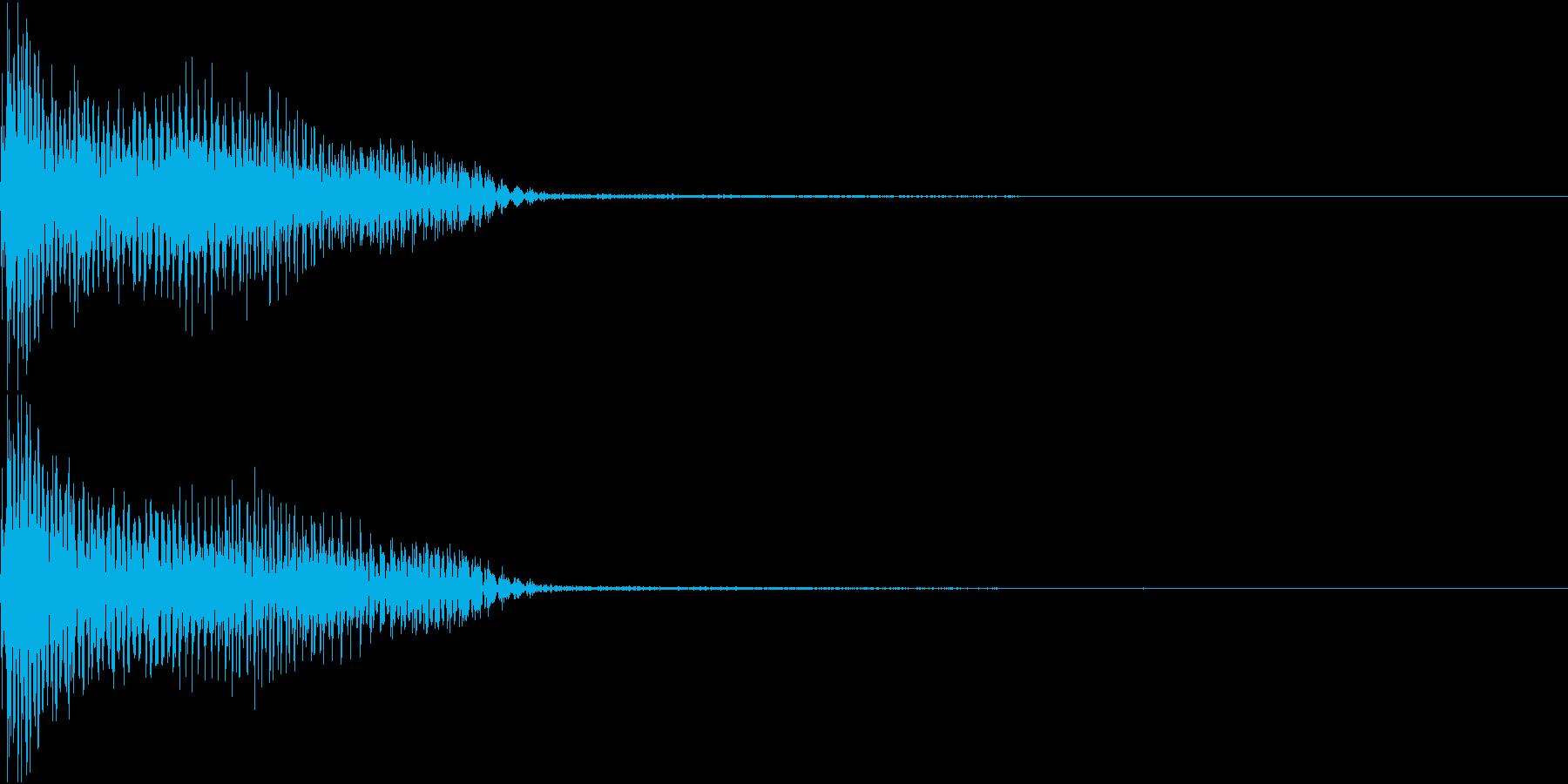InvaderBuzz 発砲音 27の再生済みの波形