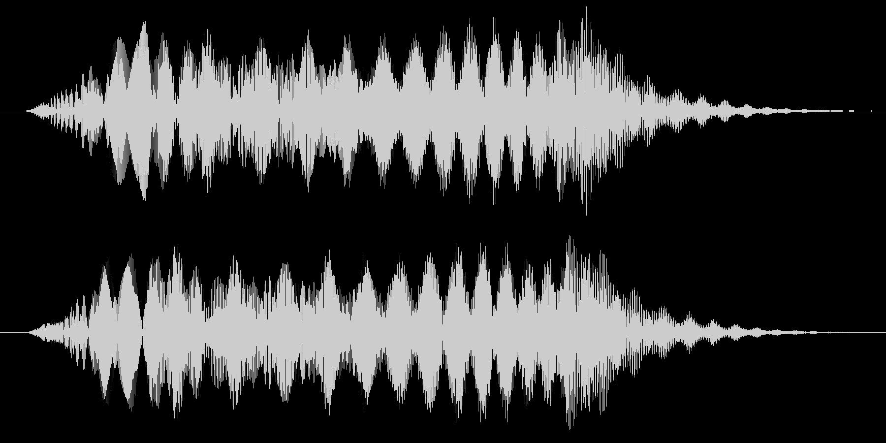 ぴょいっ/ジャンプ/避けるの未再生の波形