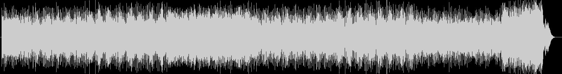 ポップで軽快なピアノテクノポップの未再生の波形
