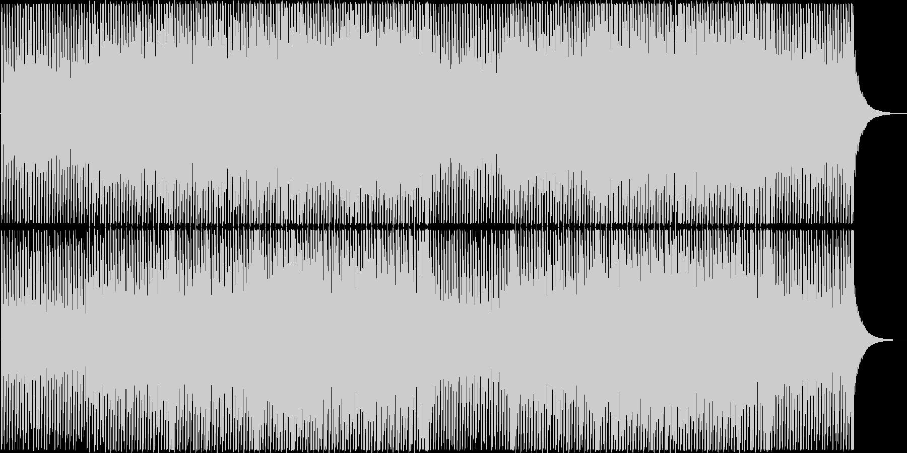 企業VPや映像向け、爽やかポップ4つ打ちの未再生の波形