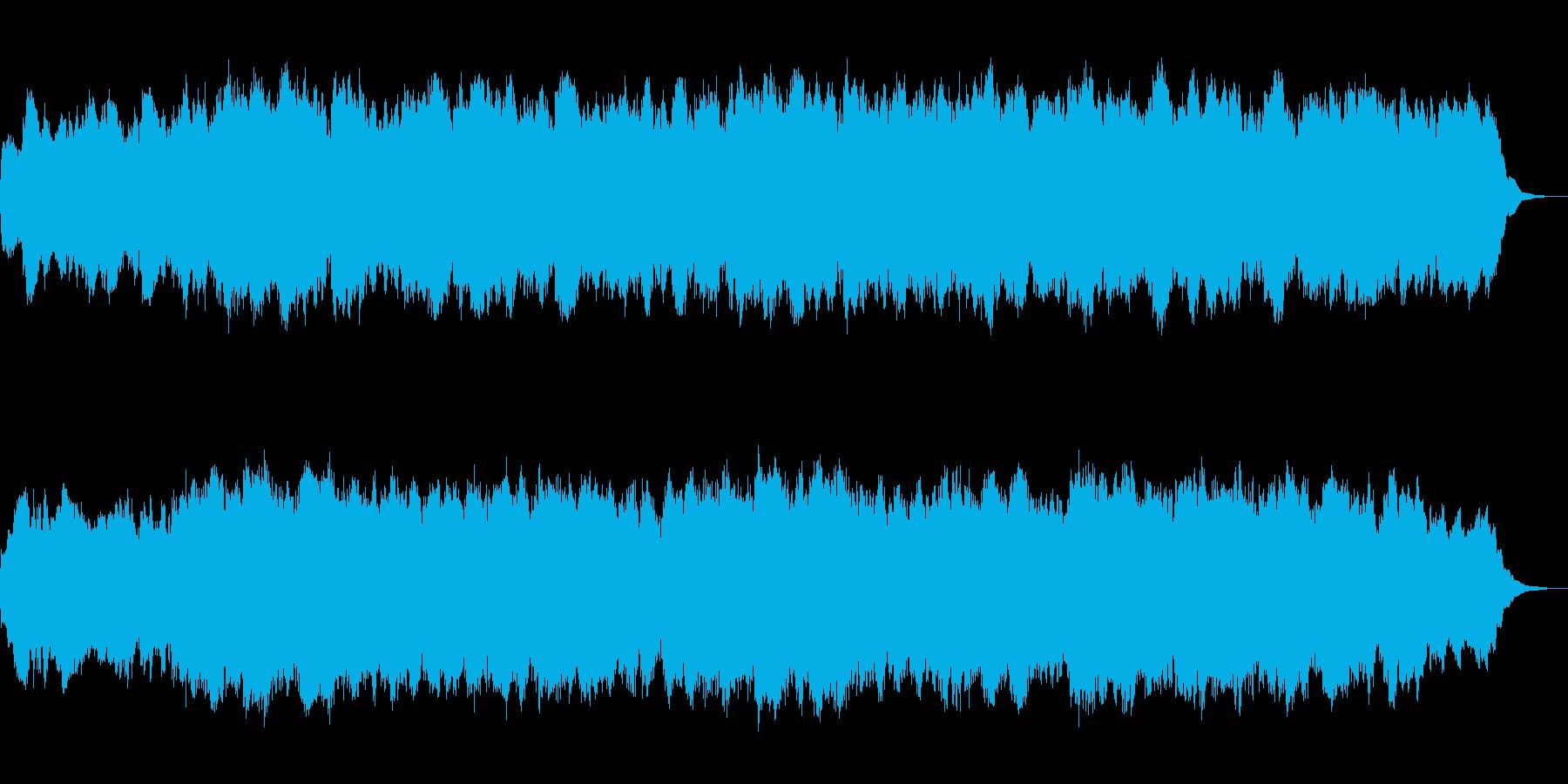 パイプオルガンのフーガ No.10の再生済みの波形