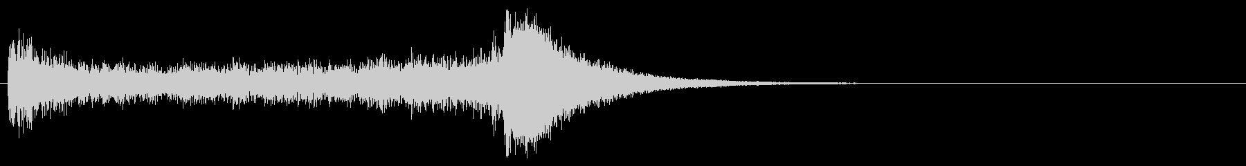汎用07 ドラムロール(5秒でシンバル)の未再生の波形