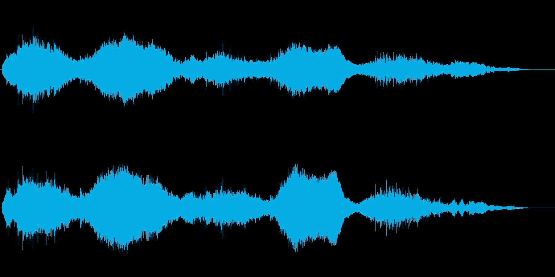 ゼンマイ仕掛けの世界がイメージのテーマの再生済みの波形