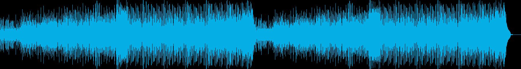 ピアノが印象的なテクノの再生済みの波形