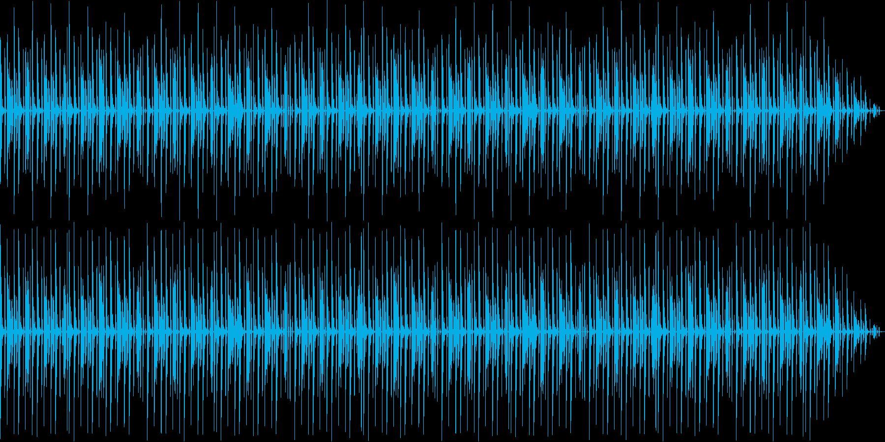 ミニマルトラックの再生済みの波形