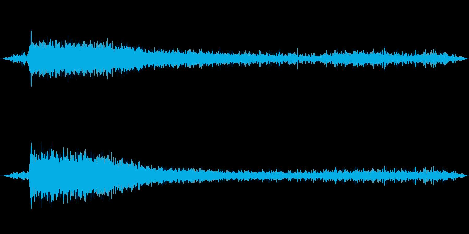 排気音 ボイラー音 蒸気機関車の再生済みの波形
