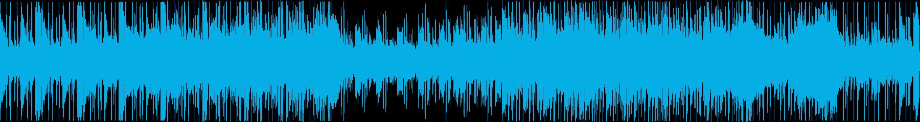 【ループ】シンセ/落ち着いた曲調/お洒落の再生済みの波形