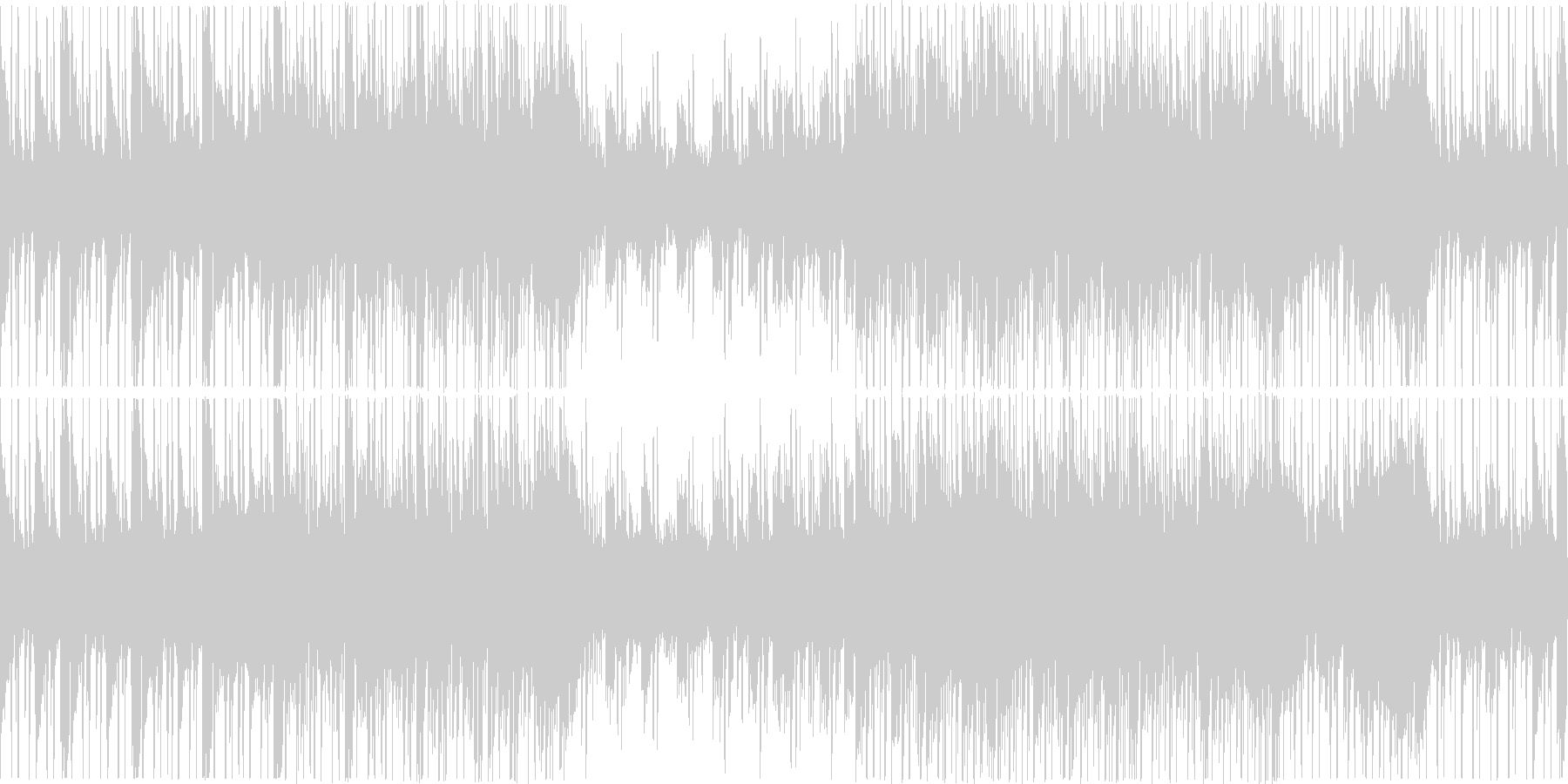 【ループ】シンセ/落ち着いた曲調/お洒落の未再生の波形