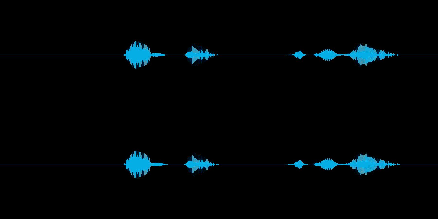 テンポ、80の再生済みの波形