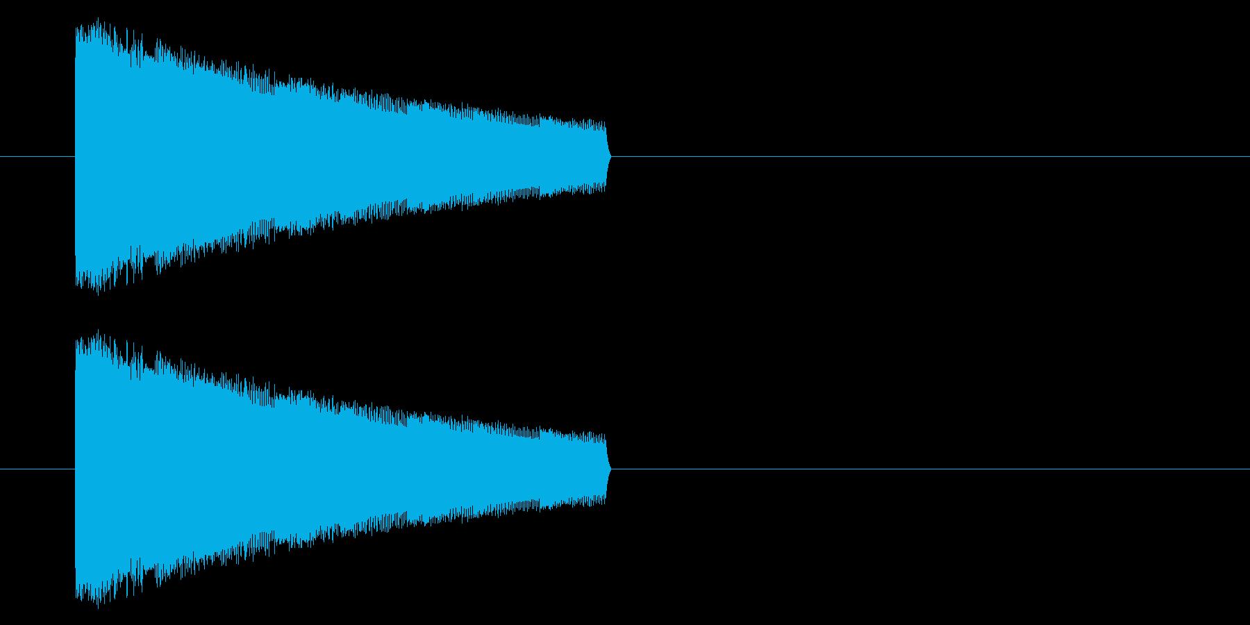 【GB アクション01-06(ミス)】の再生済みの波形