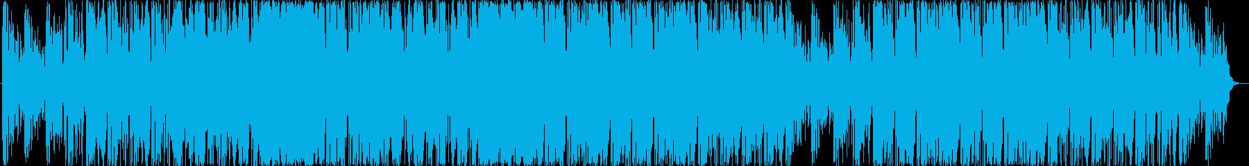 無機質だけれど透明感のあるシンセポップの再生済みの波形