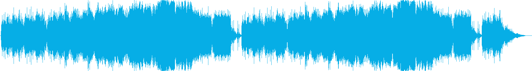 不思議な森をイメージしたBGMの再生済みの波形