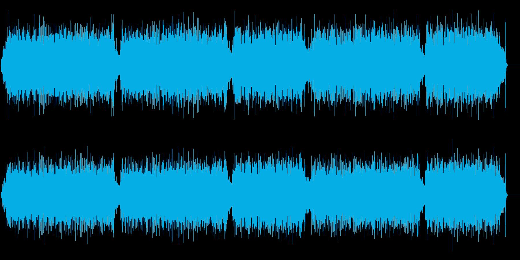 ハツラツ路線のストレート・フュージョンの再生済みの波形