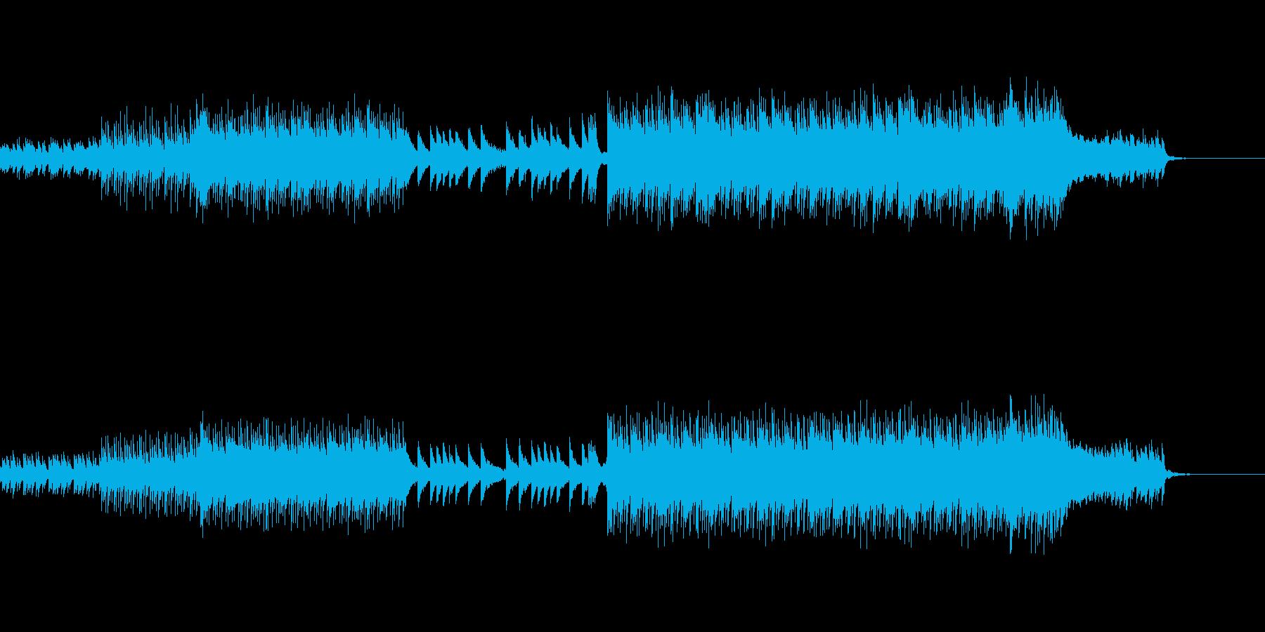 明るい未来へと続く曲の再生済みの波形