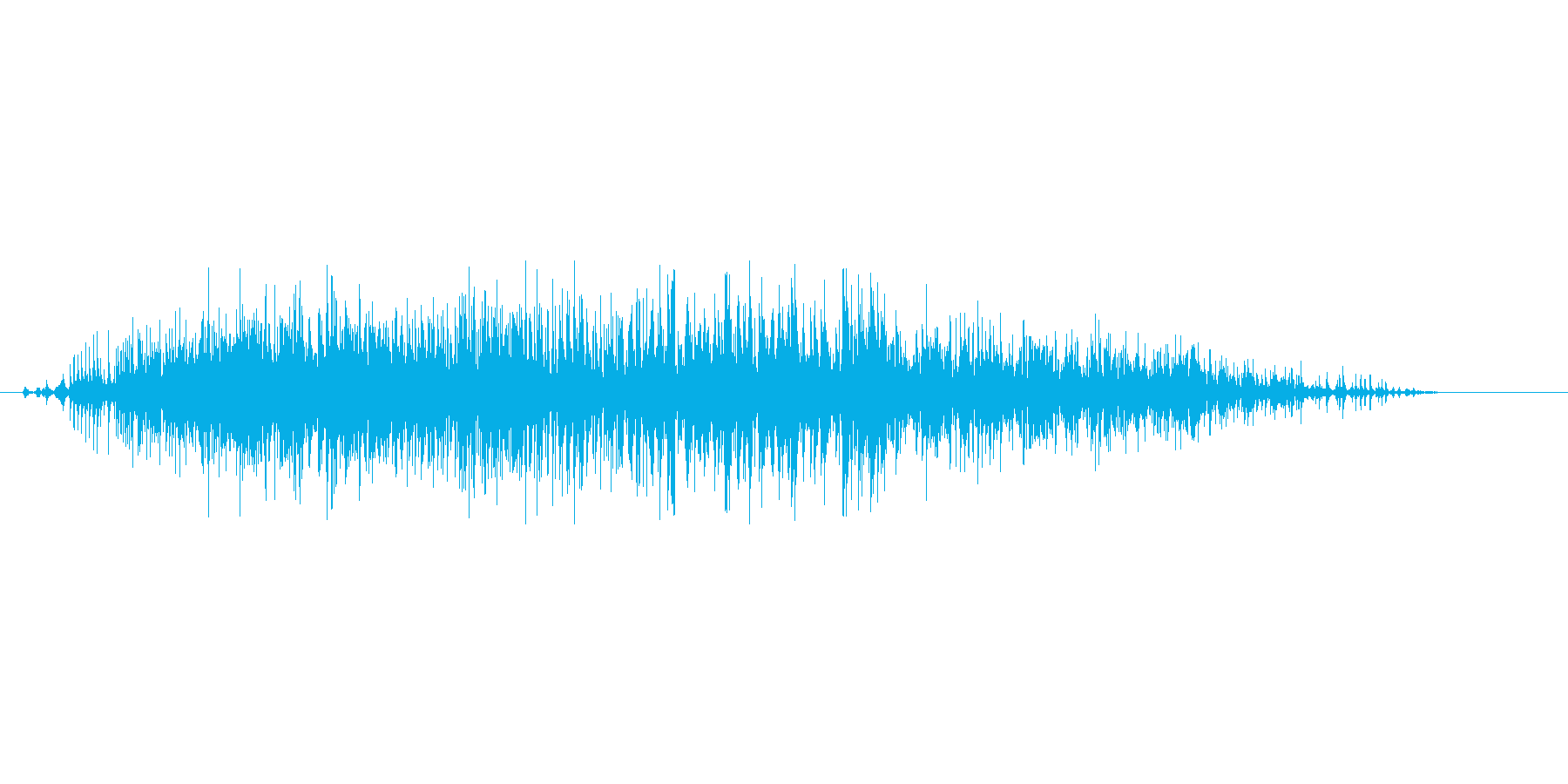 ヴォォォォの再生済みの波形