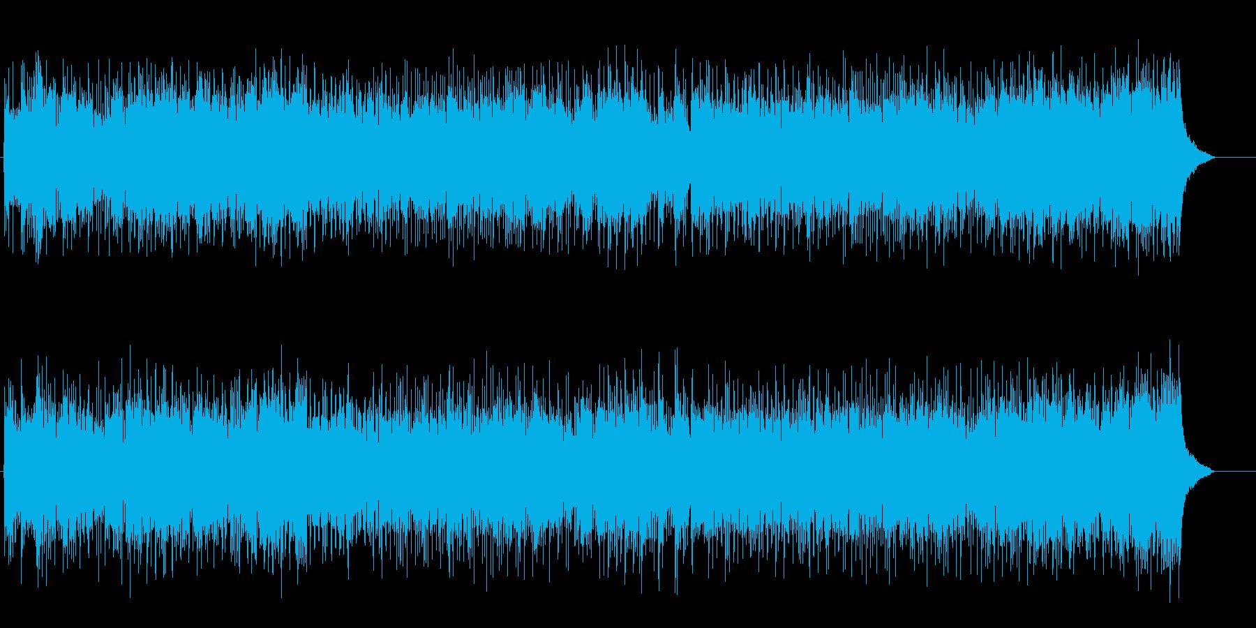 期待感と躍動感のテーマ・パーク風ポップスの再生済みの波形