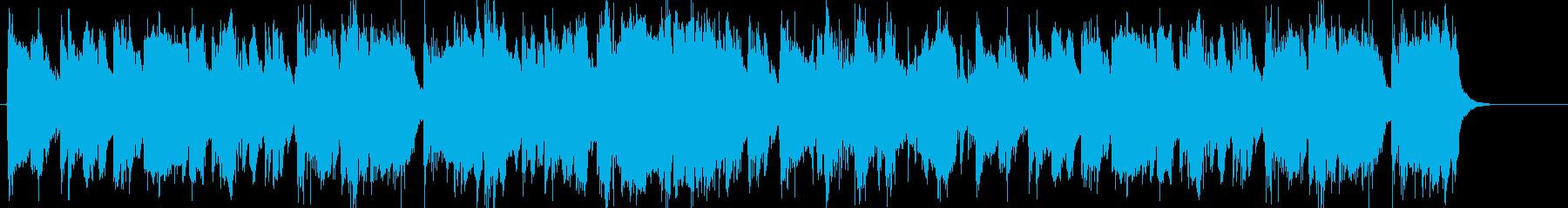 南国をイメージしたボサノバの再生済みの波形