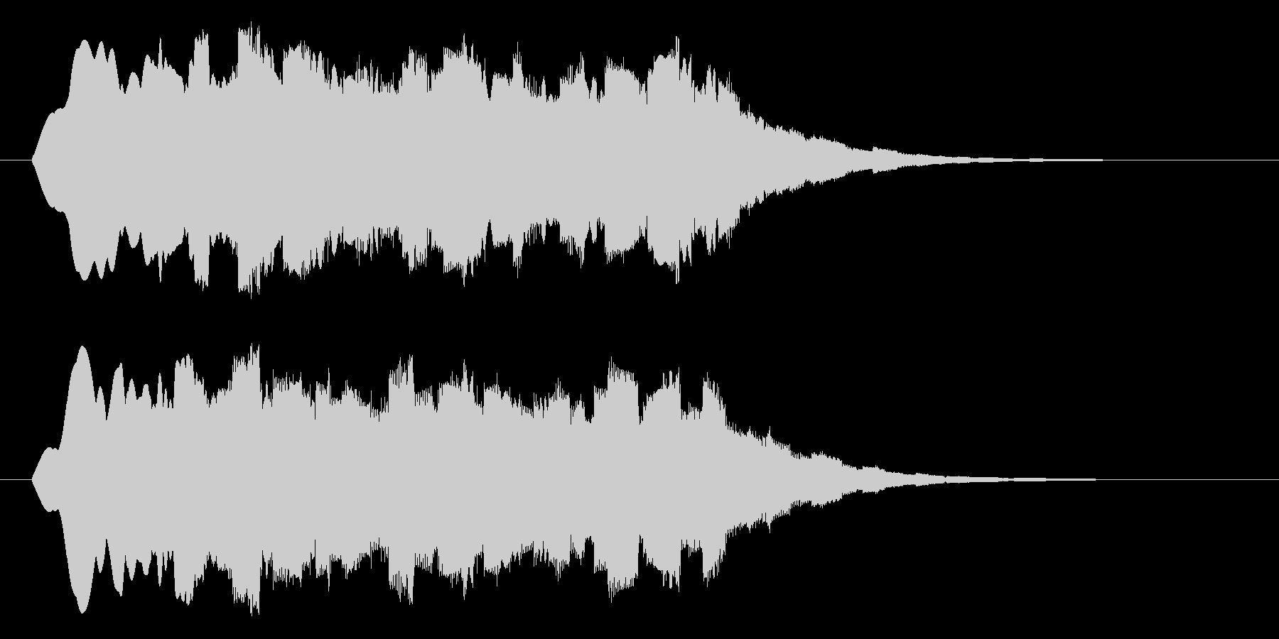 クォァァァーーーの未再生の波形