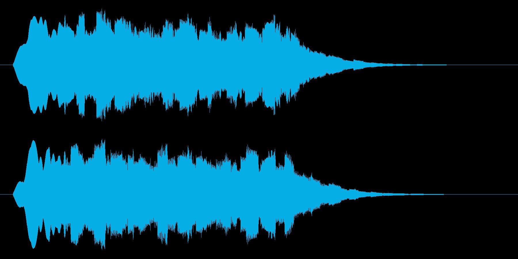 クォァァァーーーの再生済みの波形