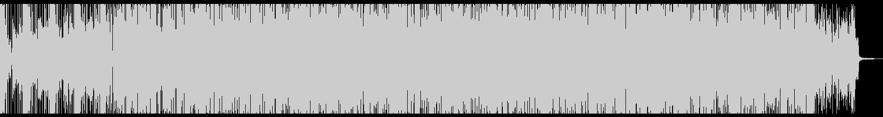 ドリームでポップなエレクトロニカの未再生の波形
