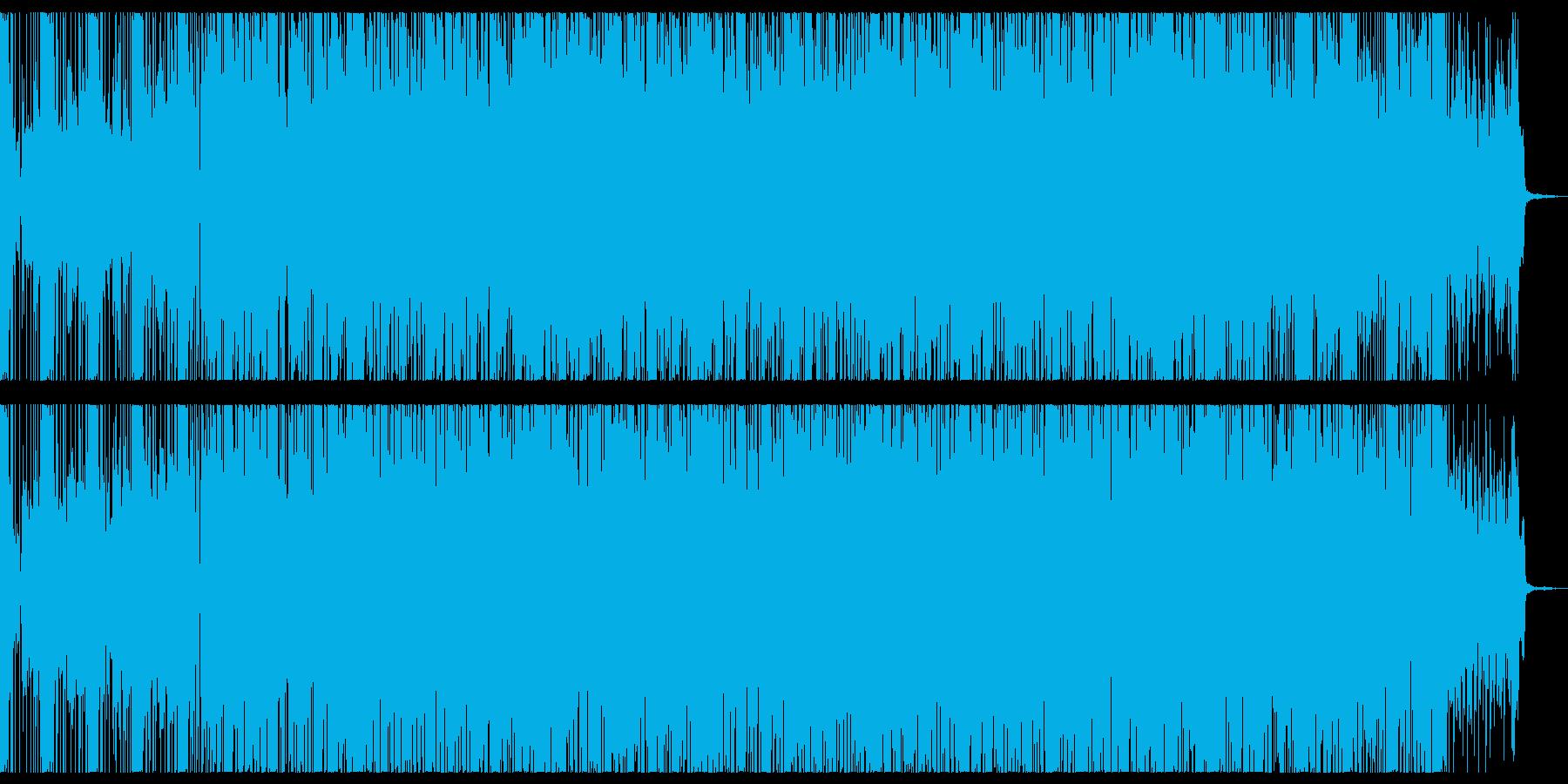 ドリームでポップなエレクトロニカの再生済みの波形