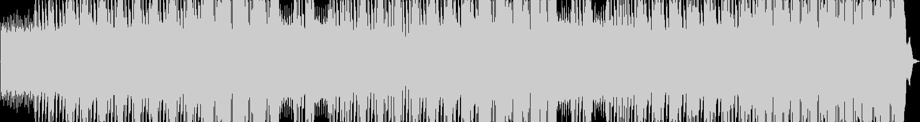 パワフルなデスメタルBGMの未再生の波形