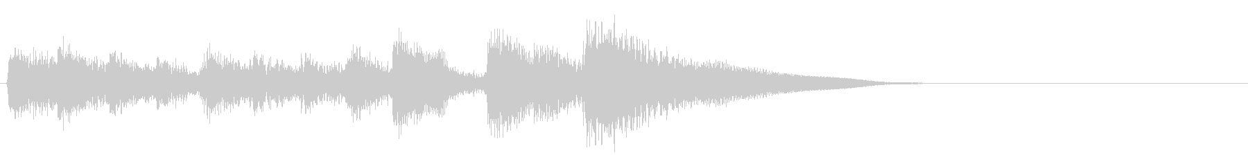 弦楽器ピチカート・上品で可愛いジングルの未再生の波形