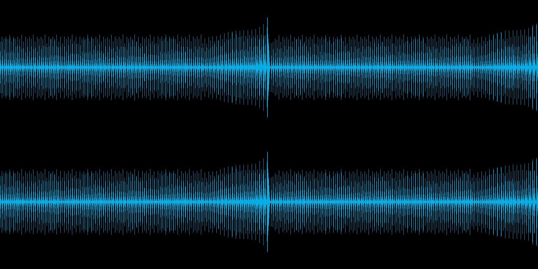 シンキングタイム(ループ)の再生済みの波形