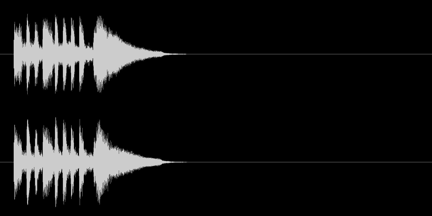 ジングル/爽やか(アコースティック)の未再生の波形