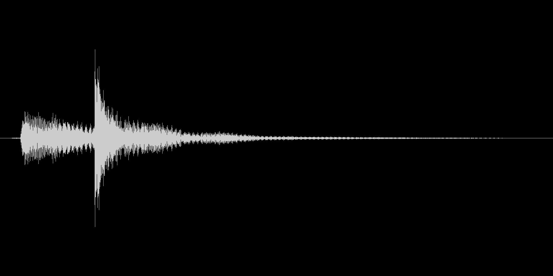 タップ.カーソル移動.クリック.決定06の未再生の波形