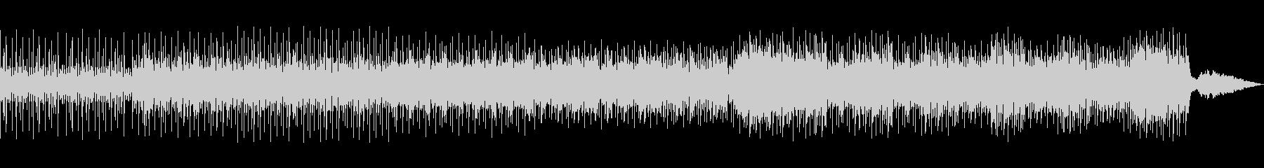 和太鼓が躍動する和風のリズムの未再生の波形