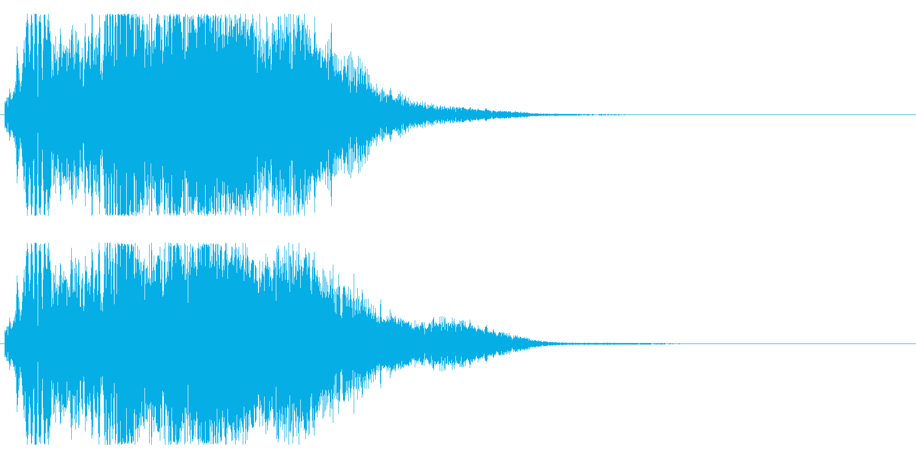 シャキーン!(ロボット攻撃 衝撃 破壊)の再生済みの波形