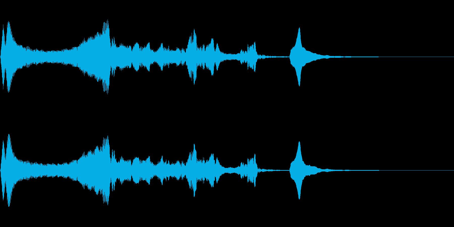 失敗、残念な描写に会うバイオリンの再生済みの波形