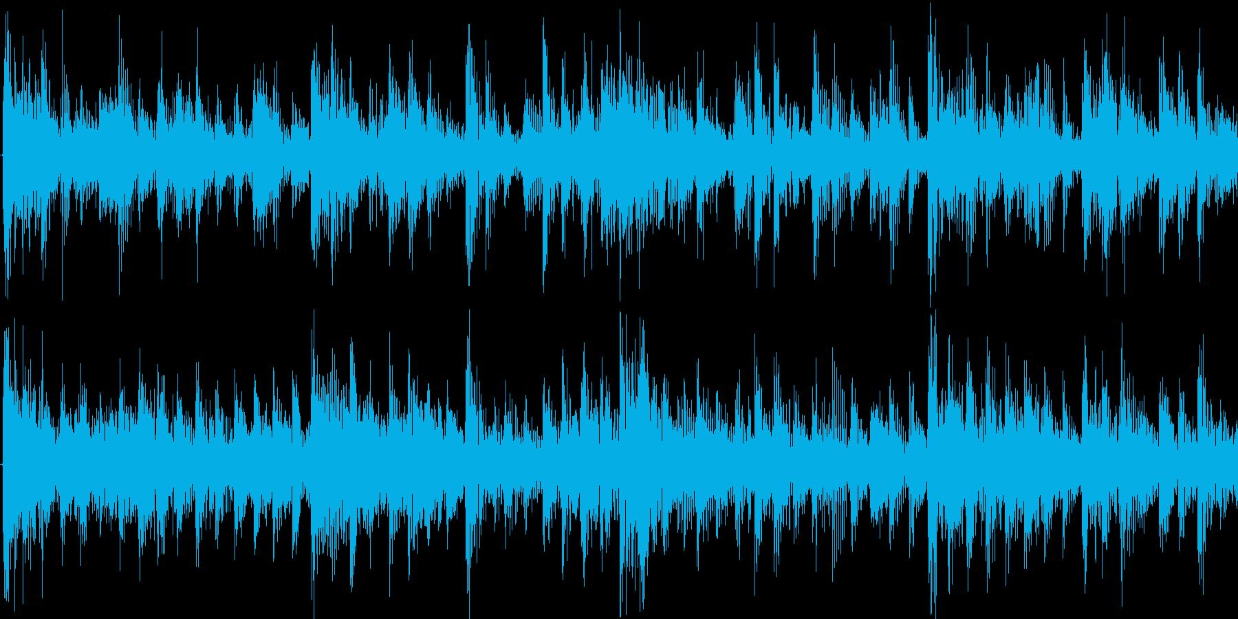 暗く疾走感のあるパワフルアンビエントの再生済みの波形
