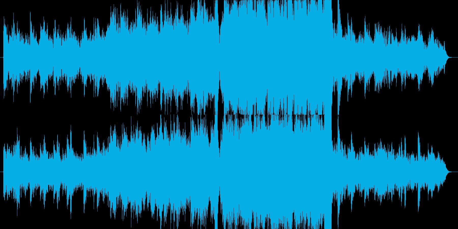 感動的なEpic Soundの再生済みの波形