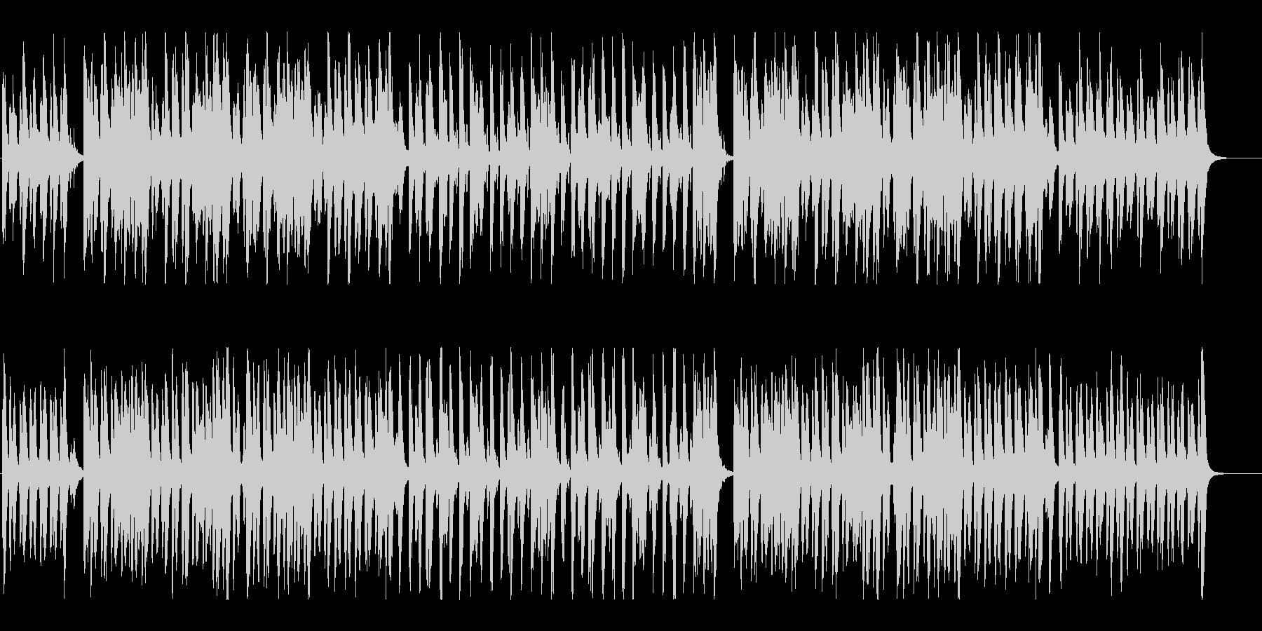ほのぼの明るく楽しいマーチBGM♪の未再生の波形