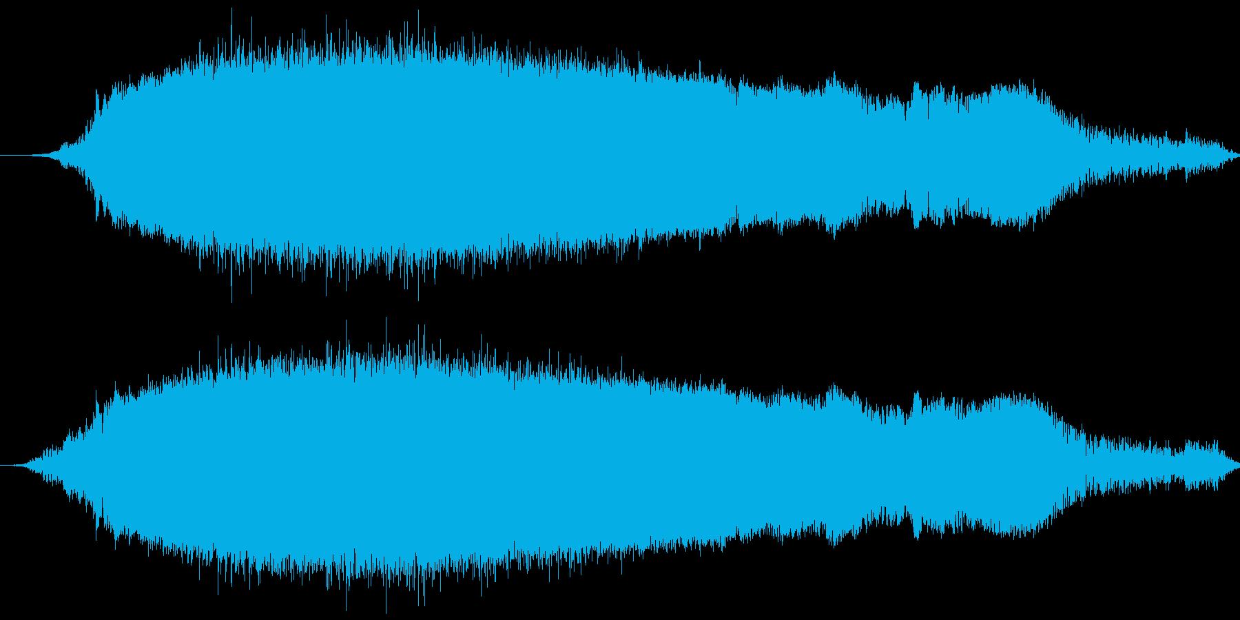 会心の一撃クリティカルヒット ズシャア!の再生済みの波形