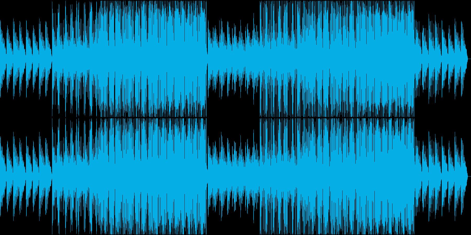 大人な雰囲気のR&Bの再生済みの波形