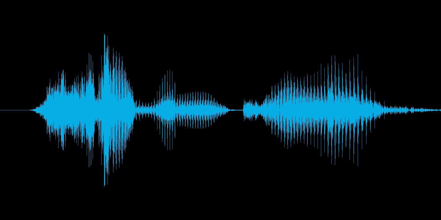 「7 PM」英語発音の再生済みの波形