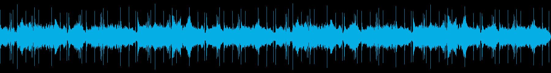 水の世界【アンビエント・環境音楽】の再生済みの波形